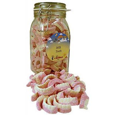 Barratts Milk Teeth in a Kilner Jar