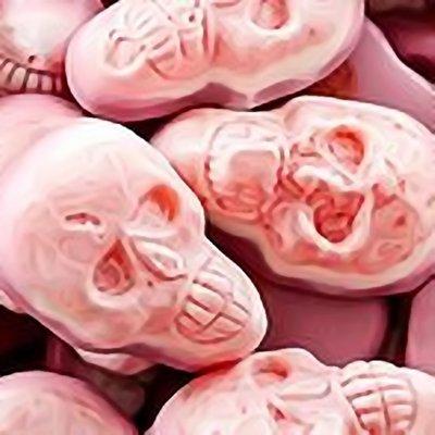 Jelly filled Skulls