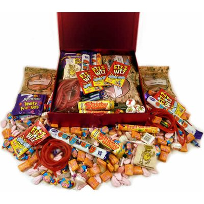 A Personalised 1970s Decade Box... Sweets from the Fabulous 70s!
