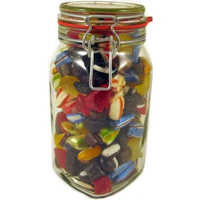 Handmade Winter Mixture Kilner Jar
