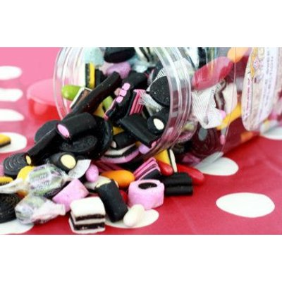 Liquorice Selection Jar - NOW YOU CAN PERSONALISE YOURS