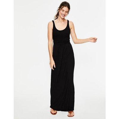 Diana Jersey Maxi Dress Black Women Boden, Black