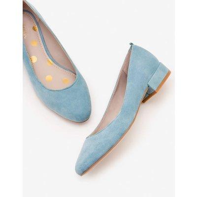 Amelie Low Heel Ballerinas Blue Women Boden, Blue