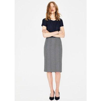 Freya Pencil Skirt Navy Women Boden, Navy