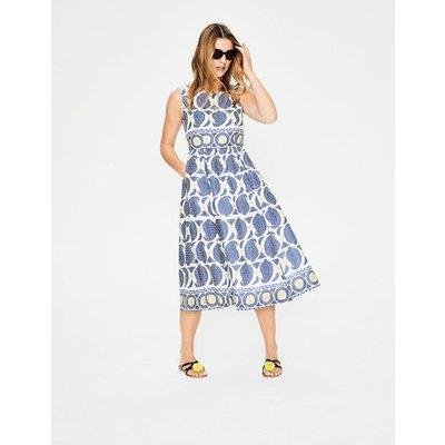 Lizzie Dress Blue Women Boden, Blue