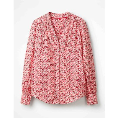 Annora Blouse Red Women Boden, Navy