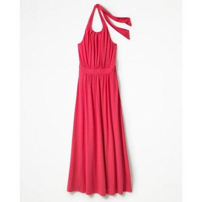 Felicity Jersey Dress Pink Women Boden, Pink
