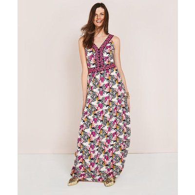 Loretta Maxi Dress Pink Women Boden, Pink