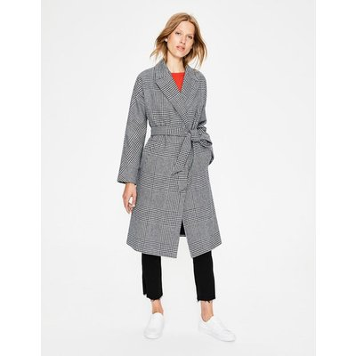 Lindfield Wrap Coat Multi Women Boden, Ivory