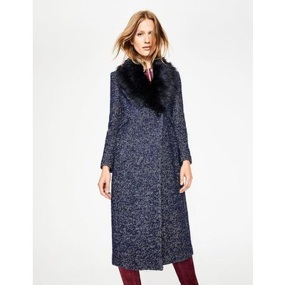 Burley Coat Navy Women Boden, Navy