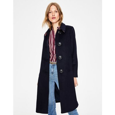 Conwy Coat Navy Women Boden, Navy