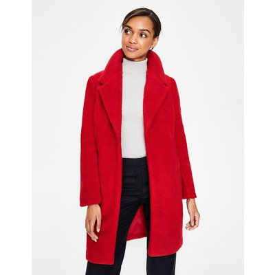 Hereford Coat Red Women Boden, Red