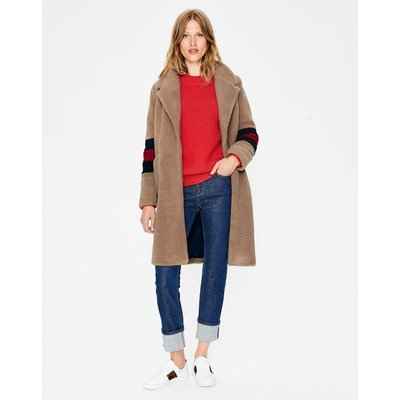 Hereford Coat Natural Women Boden, Brown