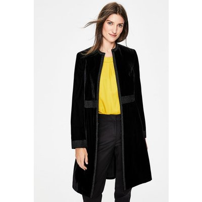 Grosvenor Party Coat Black Women Boden, Black