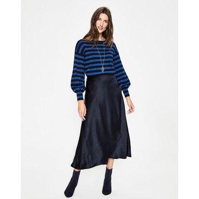 Epsom Midi Skirt Navy Women Boden, Navy