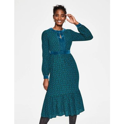 Annabelle Midi Dress Green Women Boden, Green