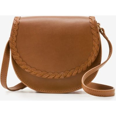 Lingfield Mini Saddle Bag Brown Women Boden, Tan
