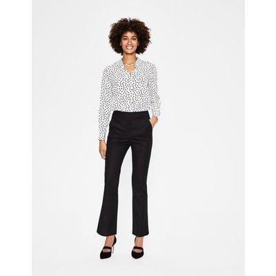 Richmond Bootcut Trousers Black Women Boden, Black