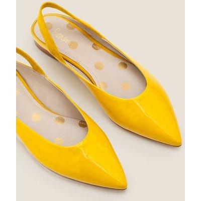 Hannah Slingbacks Yellow Women Boden, Orange