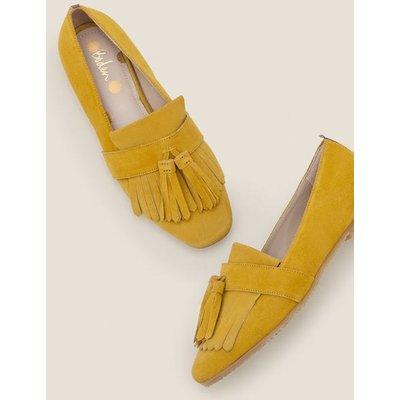 Tess Flats Yellow Women Boden, Orange