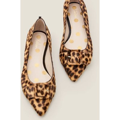Renee Flats Brown Women Boden, Leopard