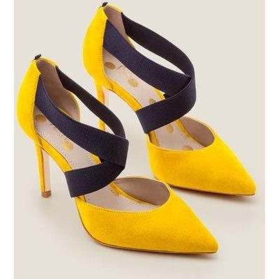 Arabella Heels Yellow Women Boden, Orange