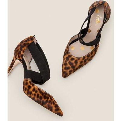 Arabella Heels Brown Women Boden, Leopard