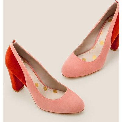 Cathy Block Heels Pink Women Boden, Brown