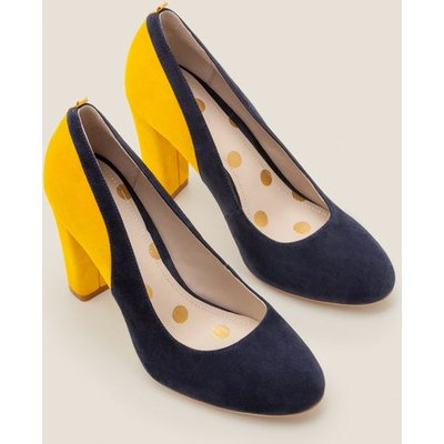 Cathy Block Heels Navy Women Boden, Navy