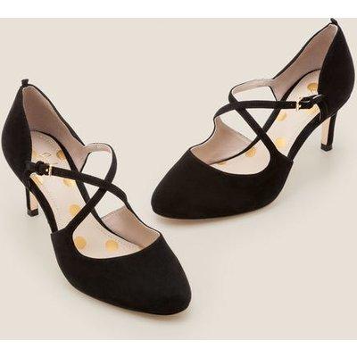 Vanessa Mid Heels Black Women Boden, Black