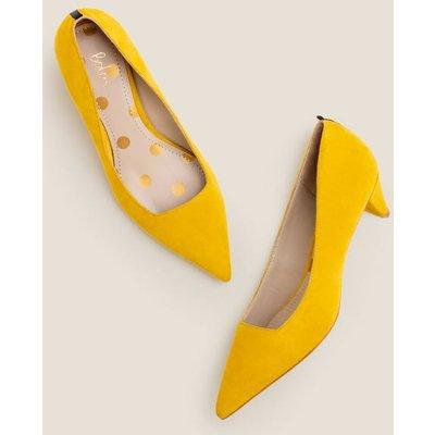Dora Kitten Heels Yellow Women Boden, Orange