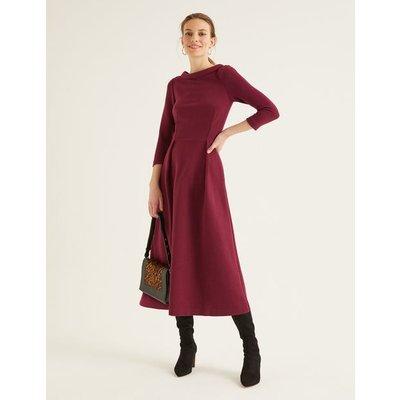 Violet Ottoman Dress Purple Women Boden, Purple