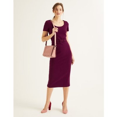 Tilly Ottoman Dress Purple Women Boden, Purple