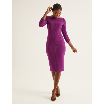 Aurelia Ottoman Dress Purple Women Boden, Purple