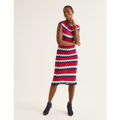 Opal Dress Navy Women Boden, Navy