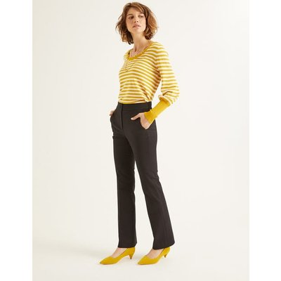 Richmond Bootcut Trousers Black Women Boden, Black
