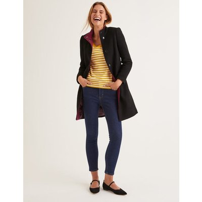 Hengrave Coat Black Women Boden, Black