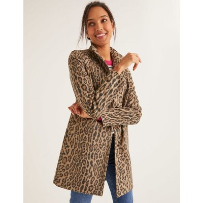 Hengrave Coat Natural Women Boden, Leopard