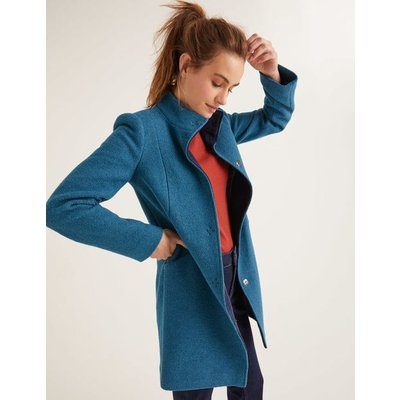 Hengrave Coat Blue Women Boden, Blue