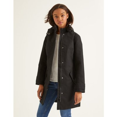 Suki Waterproof Coat Black Women Boden, Black