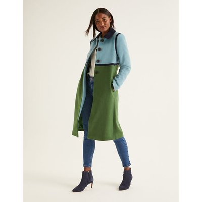 Lovelace Coat Green Women Boden, Green