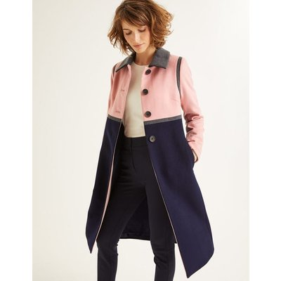 Lovelace Coat Navy Women Boden, Navy
