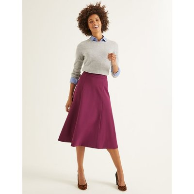 Rosie Ponte Midi Skirt Purple Women Boden, Purple