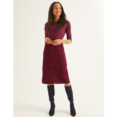 Natalie Midi Skirt Purple Women Boden, Purple