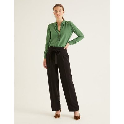Ketton Wide Leg Trousers Black Women Boden, Black