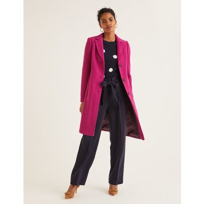 Stanhope Coat Purple Women Boden, Purple