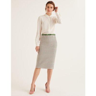 Clara Pencil Skirt Green Women Boden, Green