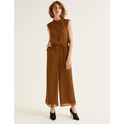 Melody Jumpsuit Brown Women Boden, Brown