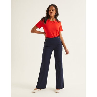 Imogen Trousers Navy Women Boden, Navy
