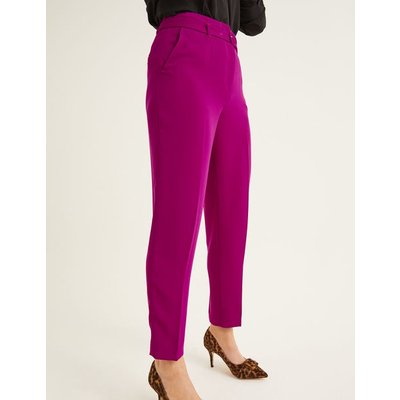 Christina Belted Trousers Purple Women Boden, Purple